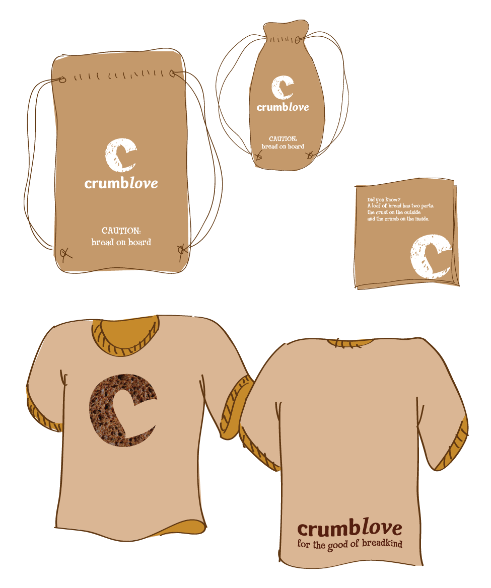 crumblove touchpoints