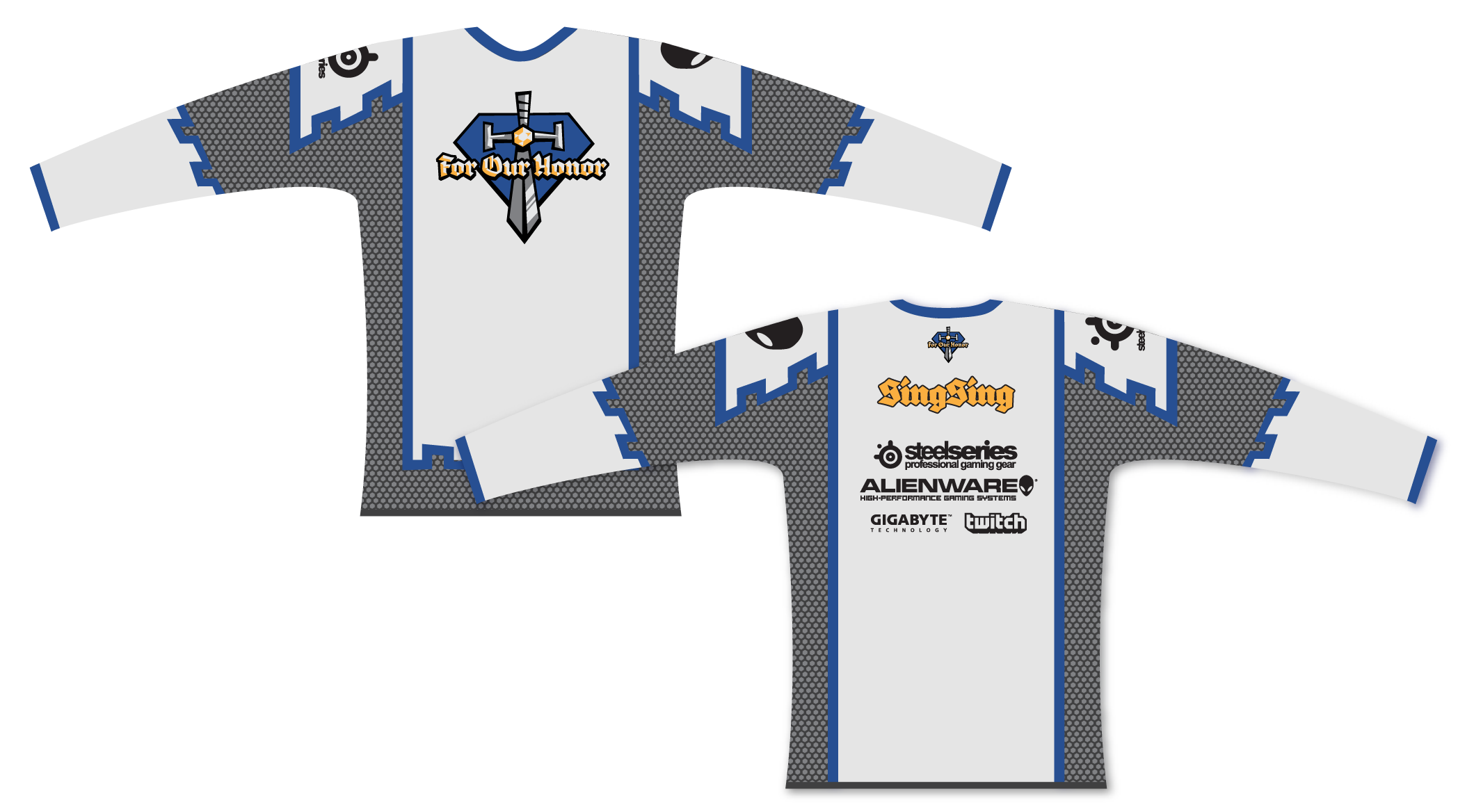 For Our Honor jerseys